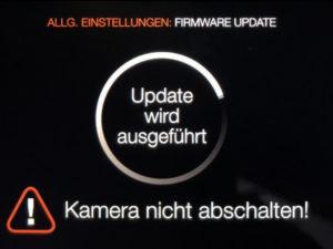 Firmware update an der X1D läuft